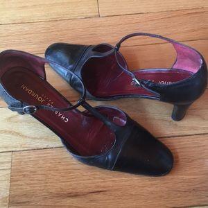 Charles Jourdan Black heels ladies 9